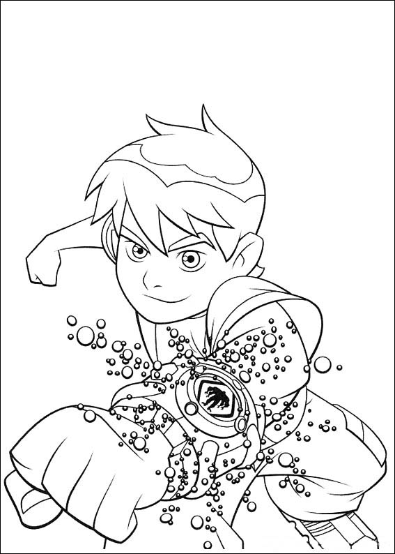 Ben Coloring Pages Printable