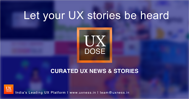UX Dose - UX News, stories