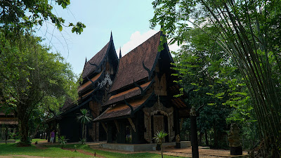 The black houses of Baan Si Dum