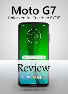 Tracfone byop moto g7