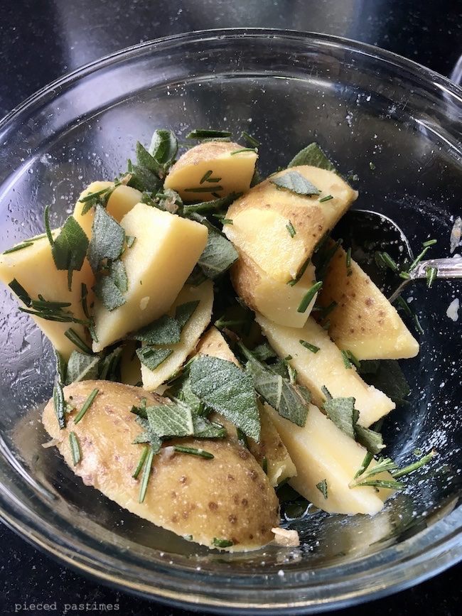 Air Fryer Herb Potatoes Recipe at Pieced Pastimes