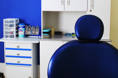 Unidad dental del consultorio dentalife de Veracruz
