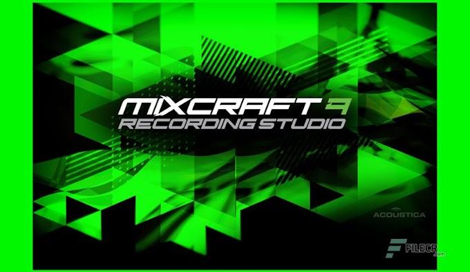 MIXCRAFT 9 RECORDING STUDIO DOWNLOAD FREE (64-bit)