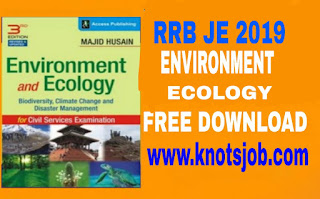 Download RRB JE Environment And Ecology 3rd Edition Pdf Book