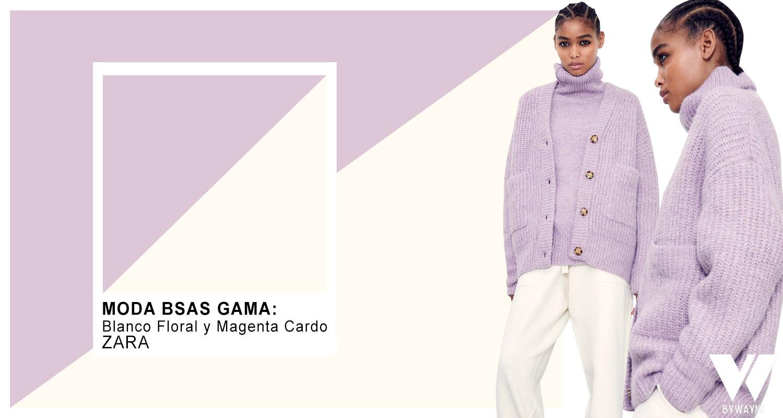 Magenta lila violeta purpura colores de moda otoño invierno 2021