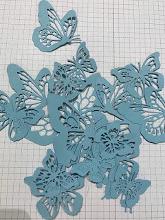 Butterfly Beauty Die cut out