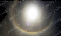 Ηλεία: Ο ουρανός είπε… «Halo» στον Πύργο! (φώτο - βίντεο)