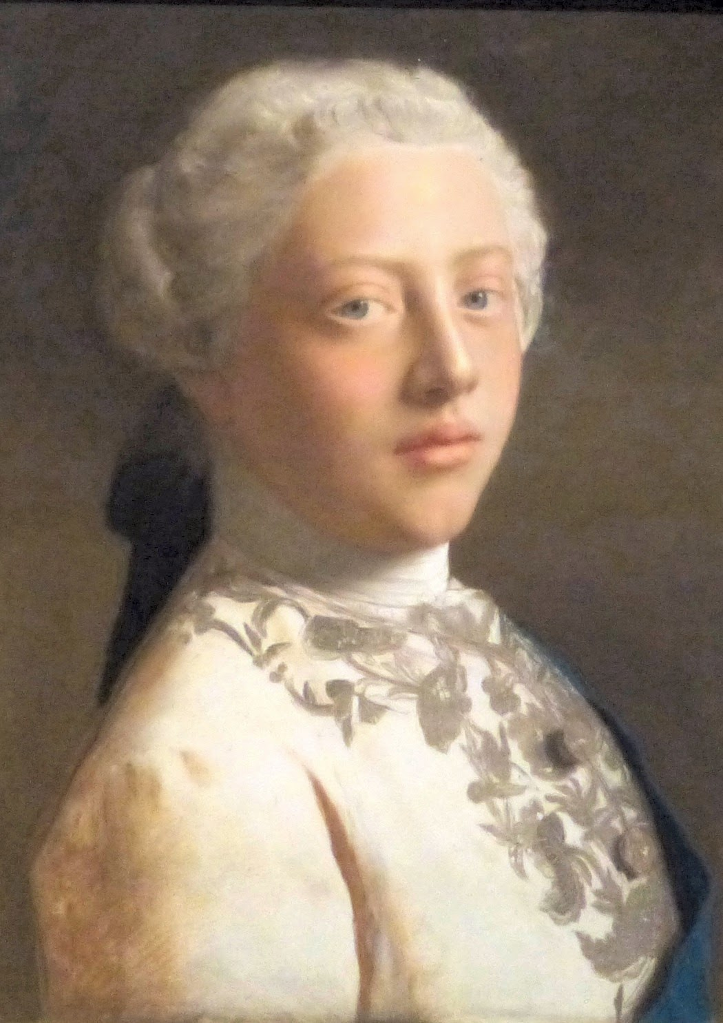 George III by Jean-Étienne Liotard (1754)