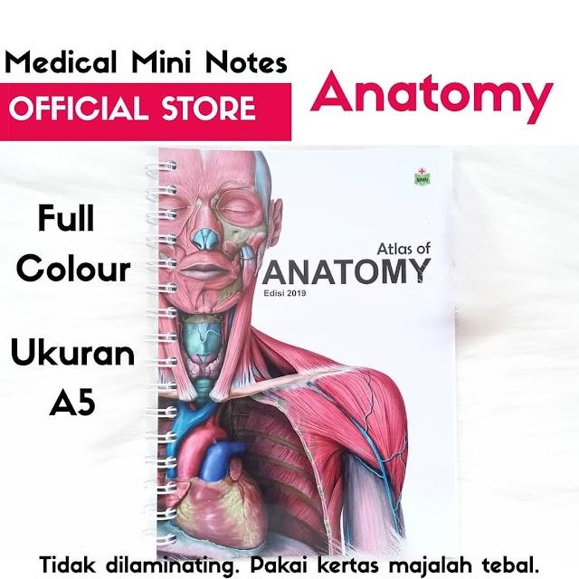 "Medical Mini Notes ""Mini Atlas Anatomy"""