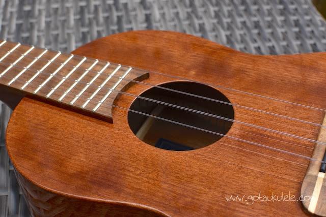 Chris Perkins Tenor Ukulele body