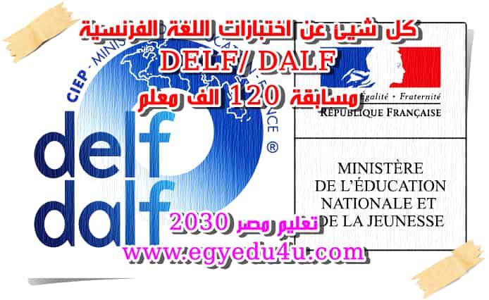 كل شيئ عن اختبارات اللغة الفرنسية Delf Dalf المطلوبة