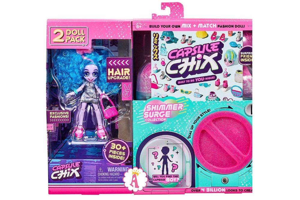 Новая серия кукол конструкторов Капсул Чикс 2020