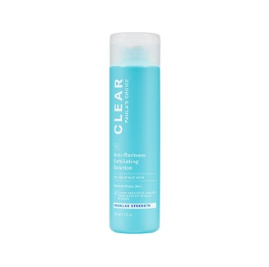 Clear Regular Strength Anti-Redness Exfoliating Solution