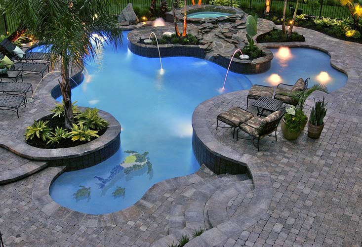 life in the barbie dream house swimming pool inspiration pictures. Black Bedroom Furniture Sets. Home Design Ideas