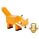 Minecraft Fox Craft-a-Block Series 1 Figure