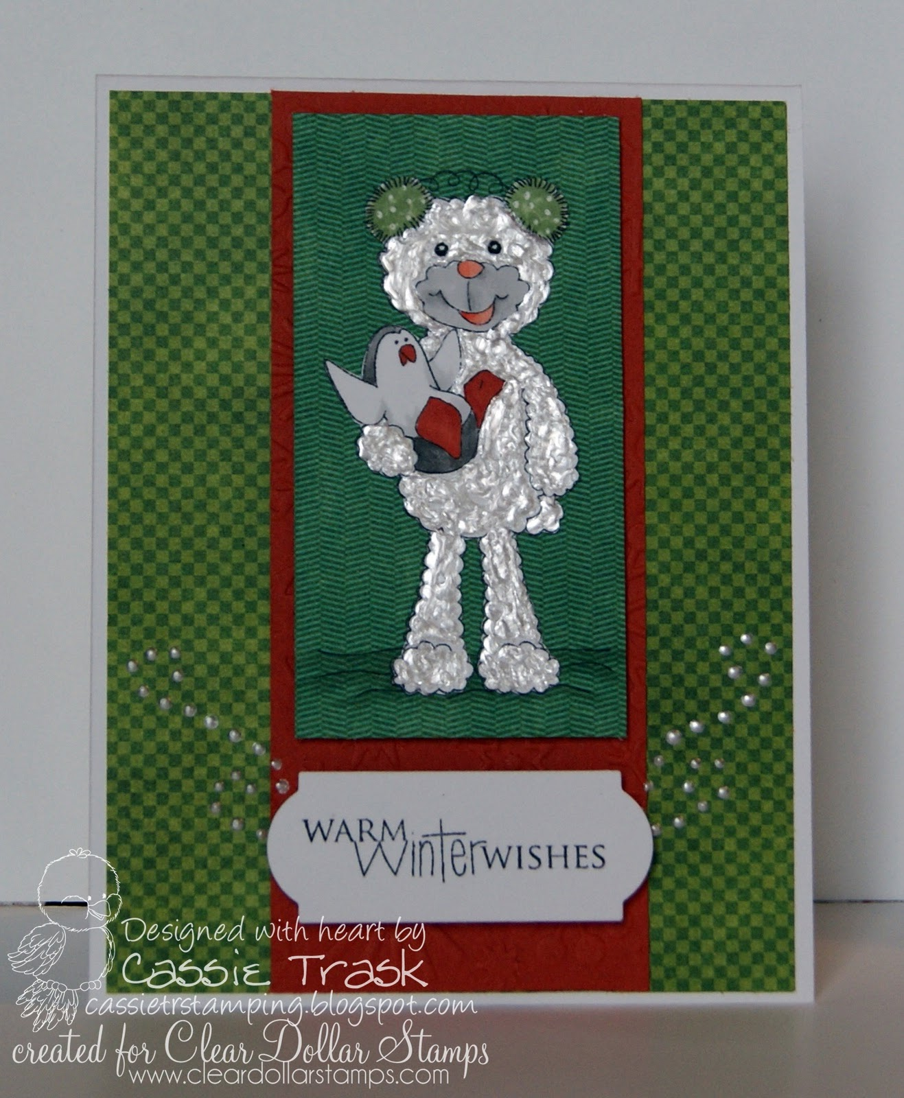 Cassie's Paper Piecings: Clear Dollar Stamps: Product