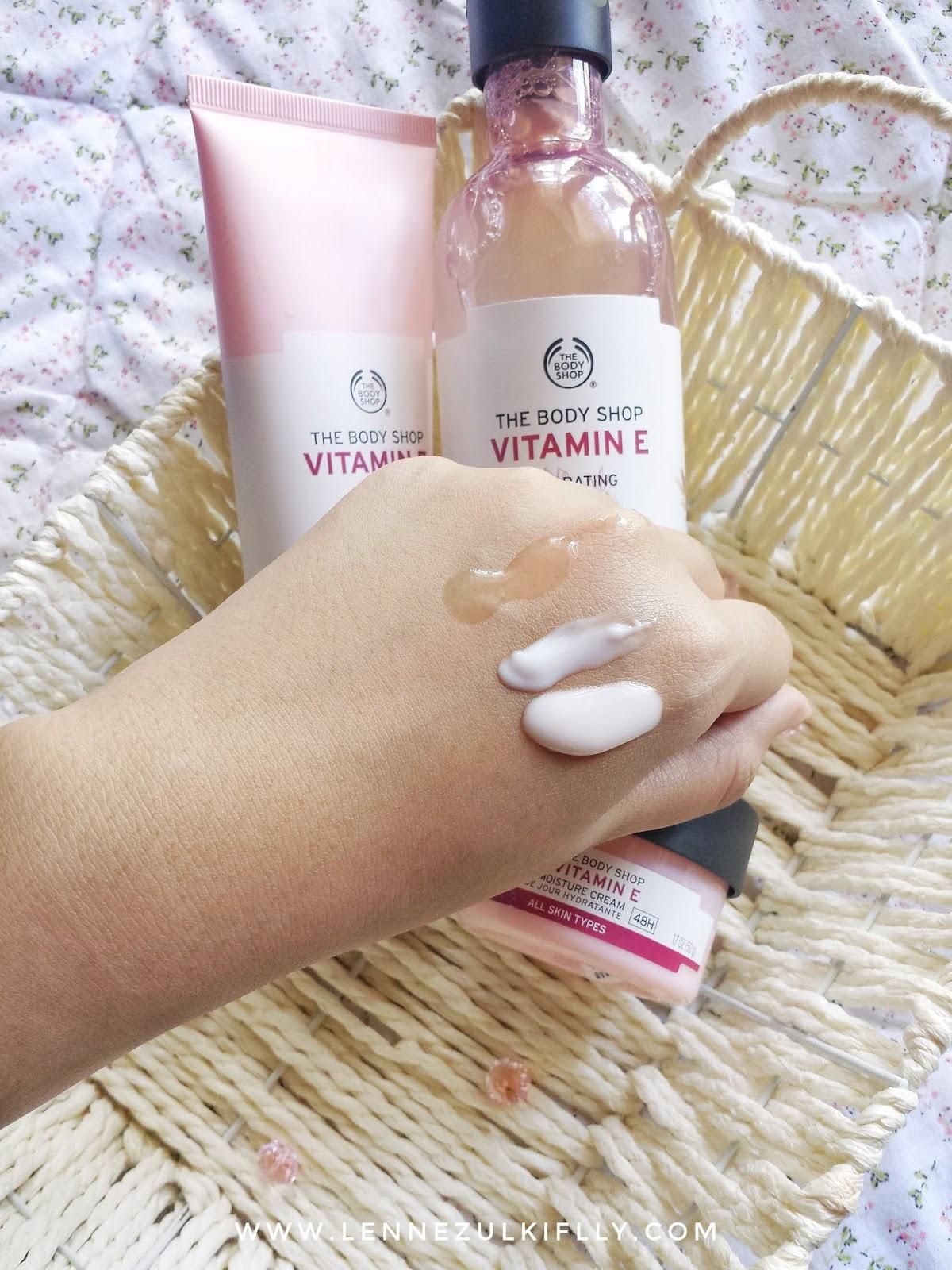 The Body Shop Vitamin E Skincare Range | LENNE ZULKIFLLY