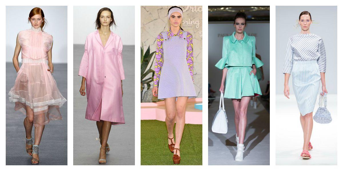 lfw ss16 trend report candy hues pink lilac bora aksu orla kiely