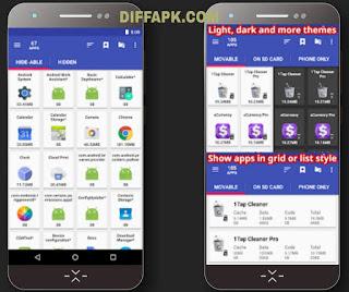 AppMgr Pro III Apk v5.09 [Patched] + [Mod Lite]