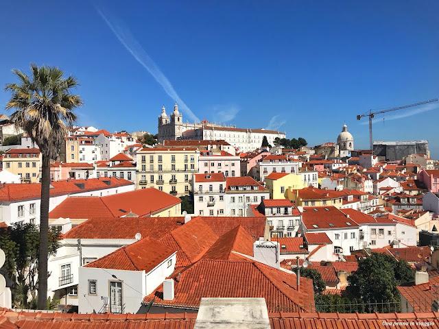 Miradouro Lisbona foto