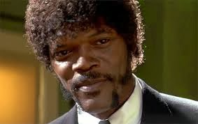 Samuel L. Jackson in Pulp Fiction Jules Winfield