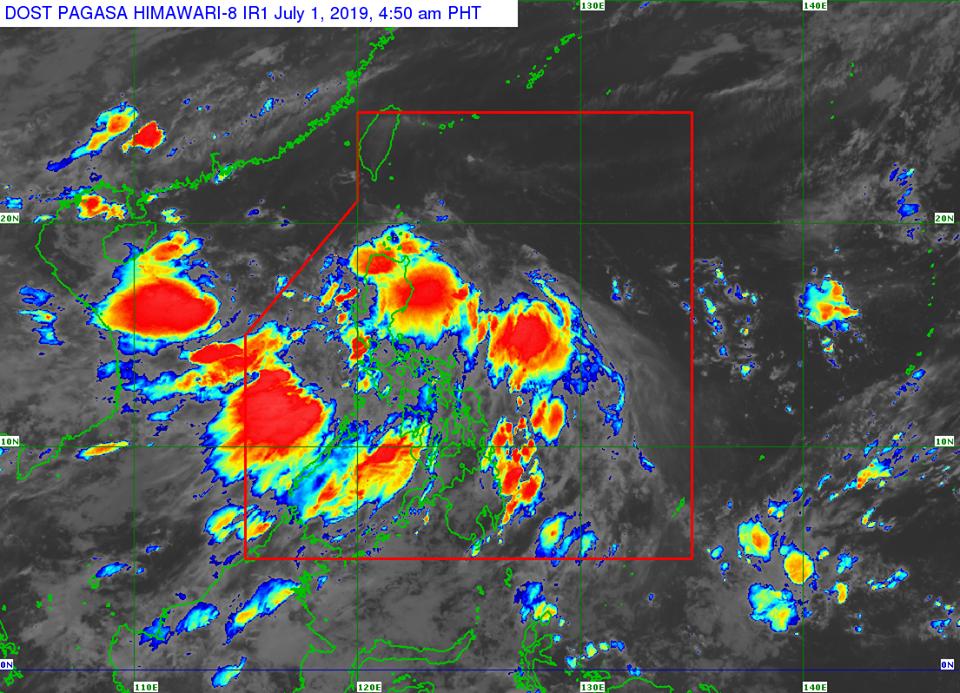 'Bagyong Egay' PAGASA weather update July 1, 2019