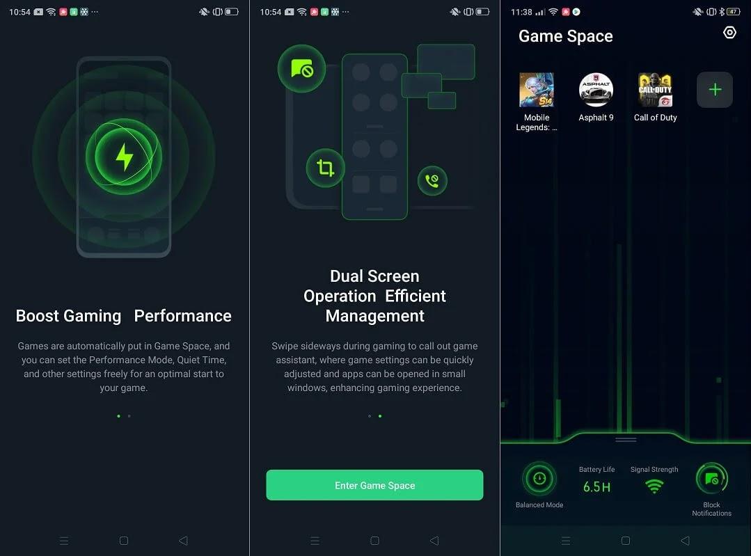 Realme 5 Game Space