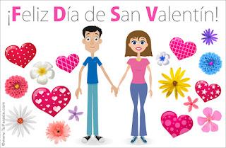 Tarjetas de San Valentin 2016