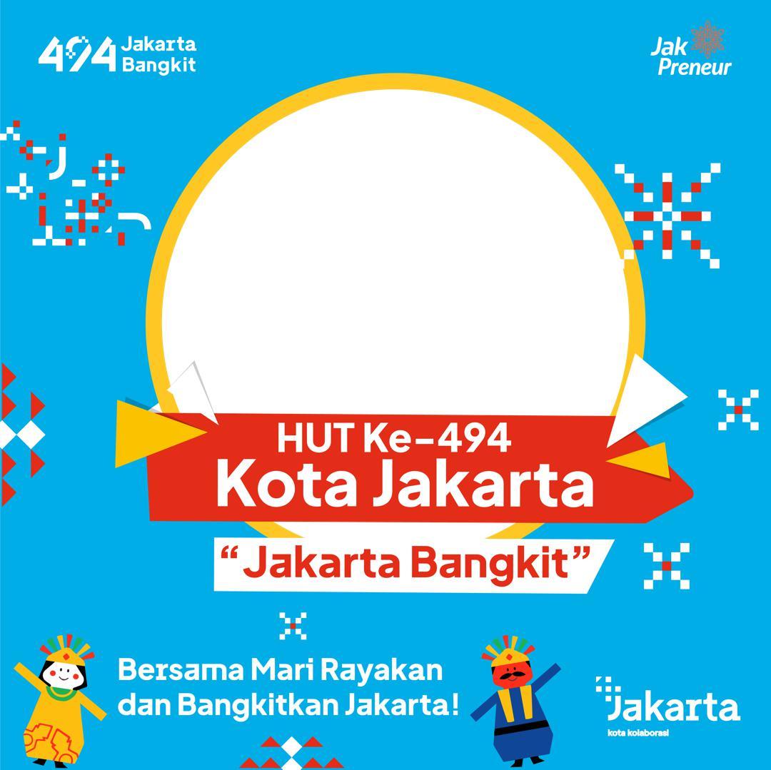 Link Bingkai atau Frame Twibbon Ucapan Selamat Hari Ulang Tahun DKI Jakarta 2021