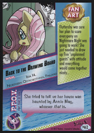 MLP Back to the Drawing Board Series 4 Trading Card