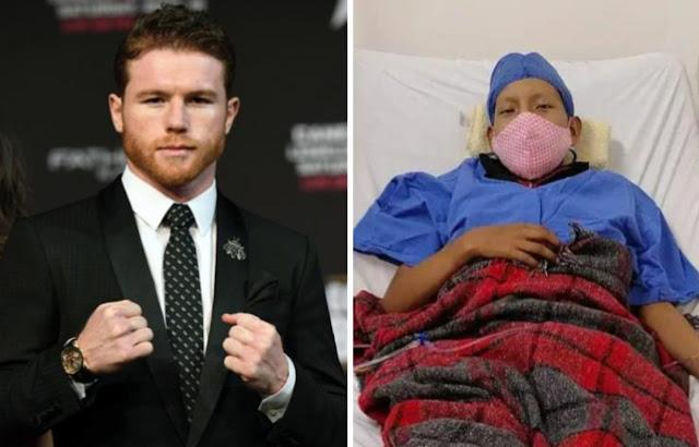 Joven con cáncer pide ayuda al  Saul 'Canelo' Álvarez para costear su tratamiento,