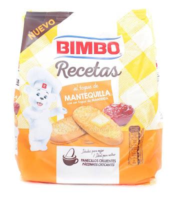 Bimbo Panecillos crujiente mantequilla