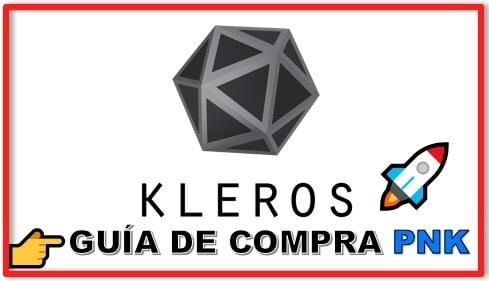 Cómo y Dónde Comprar Criptomoneda KLEROS (PNK) Tutorial Actualizado