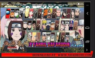 Naruto Senki Modifikasi by Fahril Apk