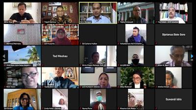 Di Forum Diplomasi Indonesia, Ketum JMSI Soroti Praktik Jurnalisme Yang Gunakan Combative Lens