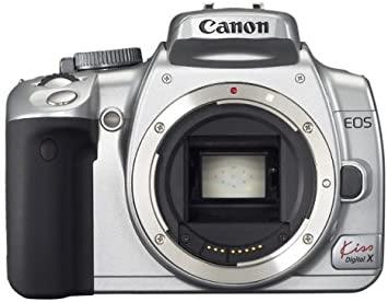 Canon EOS Kiss Digital X DSLRファームウェアのダウンロード