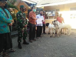 Idul Adha,  Multi Bintang Indonesia Salurkan Bantuan 19 Kambing Kurban