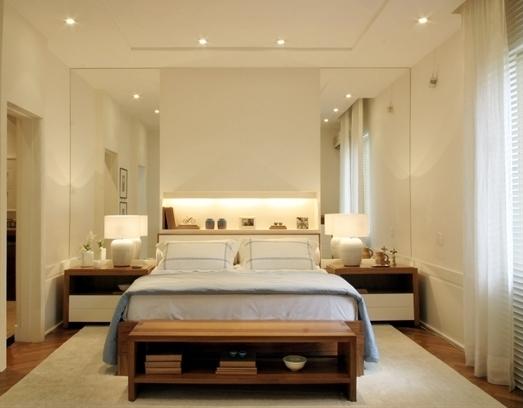 Idea para ampliar el ambiente usando espejos en el for Espejos para dormitorios juveniles