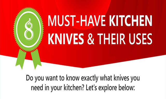 8 Must-Have Kitchen Knives and Their Uses