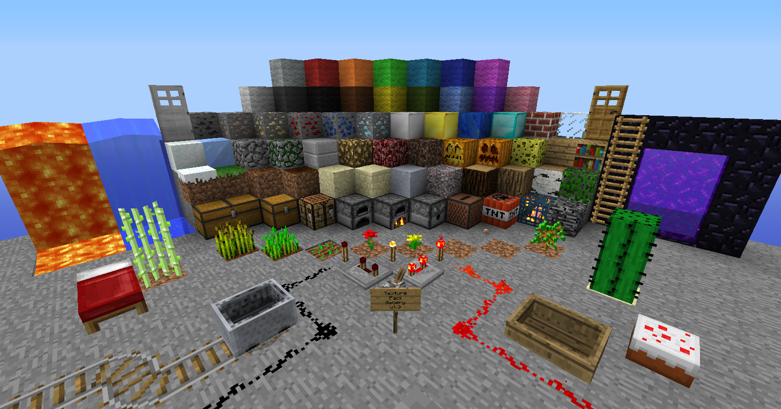 MineBlogCraft - Let's punch some trees!: Minecraft Texture Packs