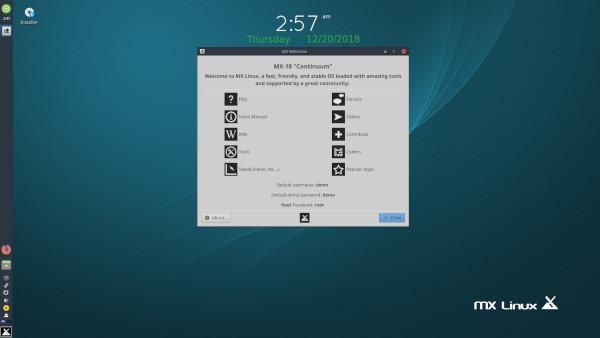 توزيعة MX Linux