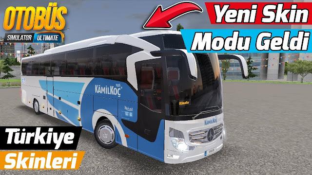Bus Simulator Ultimate Süper Lig Otobüs Skinleri Yapımı