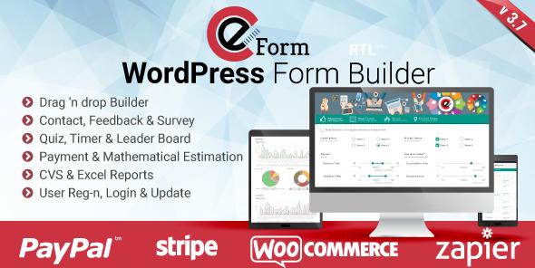 eForm v3.7.4 – WordPress Form Builder