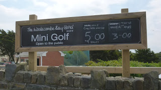 Mini Golf at the Woolacombe Bay Hotel