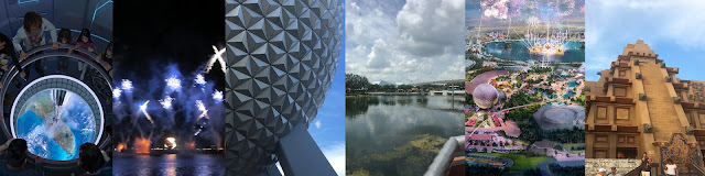 Epcot Collage