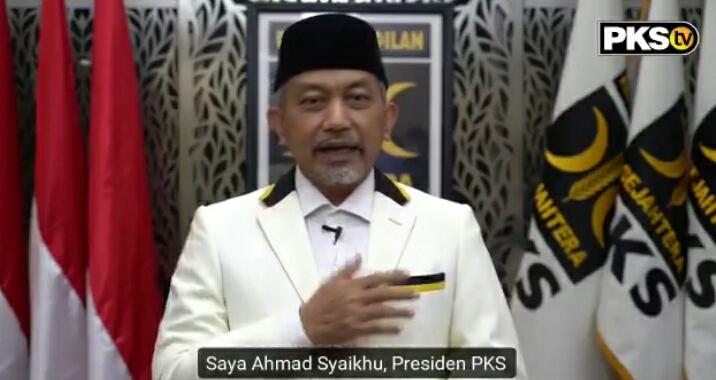 Presiden PKS Instruksikan Kader Agar Solid Menangkan Pasangan Fikar - Yos