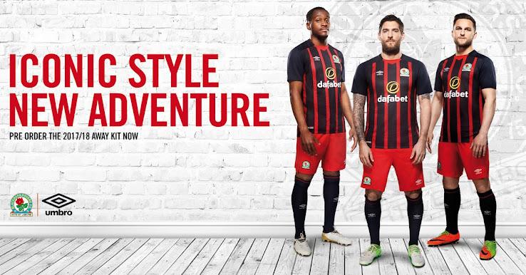 Blackburn Rovers 17-18 Away Kit Released - Footy Headlines 478357883