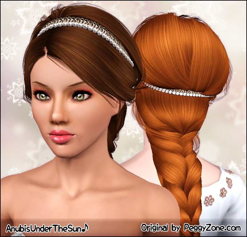 Terrific Mod The Sims French Braid Short Hairstyles For Black Women Fulllsitofus