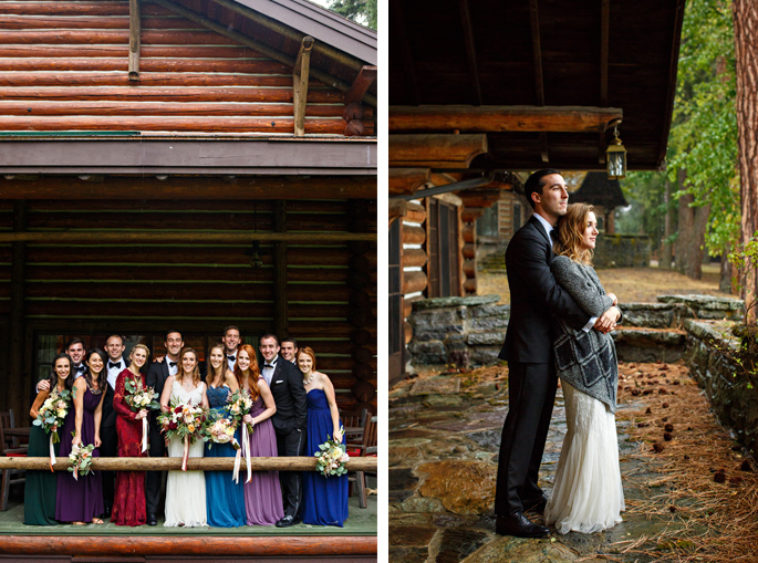 Rainy Day Wedding / Montana / Photography: Brooke Peterson Photography / Wedding Coordinator: Courtney of 114-West / Venue: Kootenai Lodge / Bride's Bouquet: Mum's Flowers / Bride's Gown: J.Crew / Groom's Tux: J.Crew / Makeup Artist: Britlee of Envy Salon & Spa /