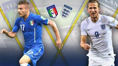 Link Live Streaming Euro 2020, Italia Vs Inggris